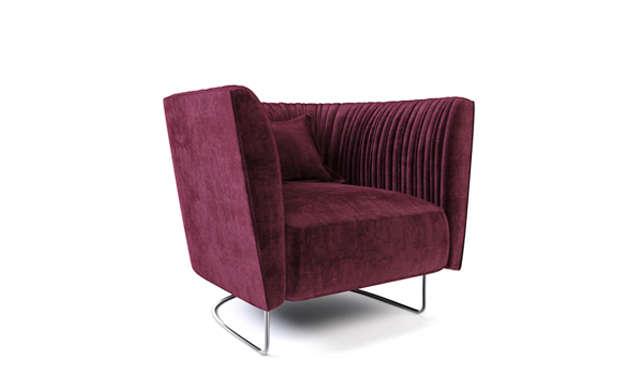 Shellon - Lounge Chair / Désirée