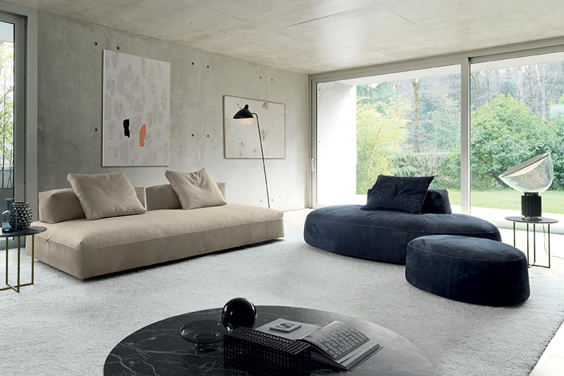 Monopoli Sofas Desiree Henri Living