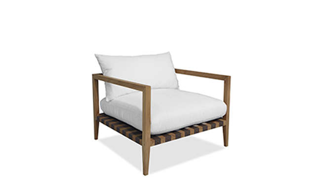 Pier - Teak Armchair / Harbour Outdoor