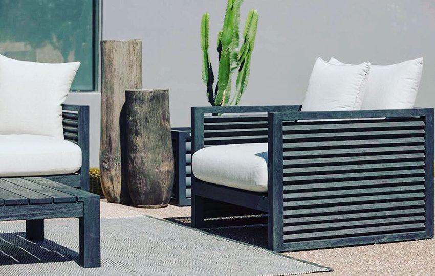 Peachy Louver Lounge Chairs Harbour Outdoor Henri Living Download Free Architecture Designs Grimeyleaguecom