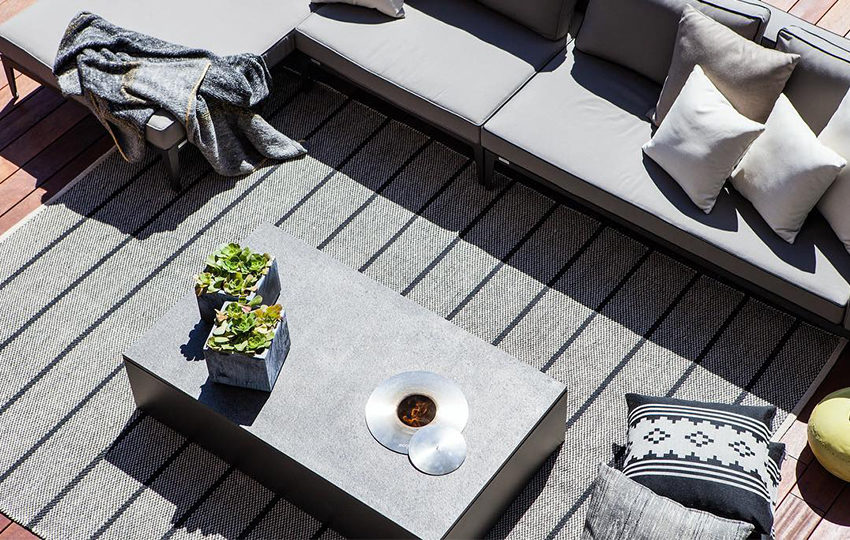 fire table    coffee   side tables    harbour outdoor    henri living