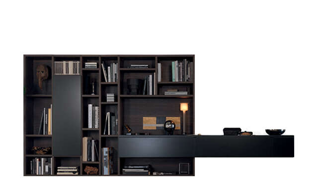 Open - Bookcase / Jesse