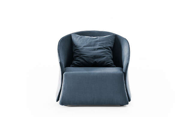 Bustier - Lounge Chair / Saba Italia