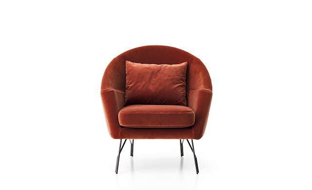 Chillout - Lounge Chair / Saba Italia