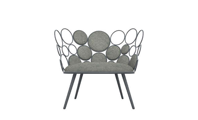 Grace - Lounge Chair / Saba Italia