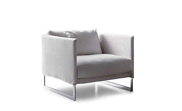 Livingston - Lounge Chair / Saba Italia