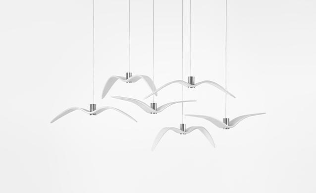 Night Birds - Pendant Light / Brokis Lighting
