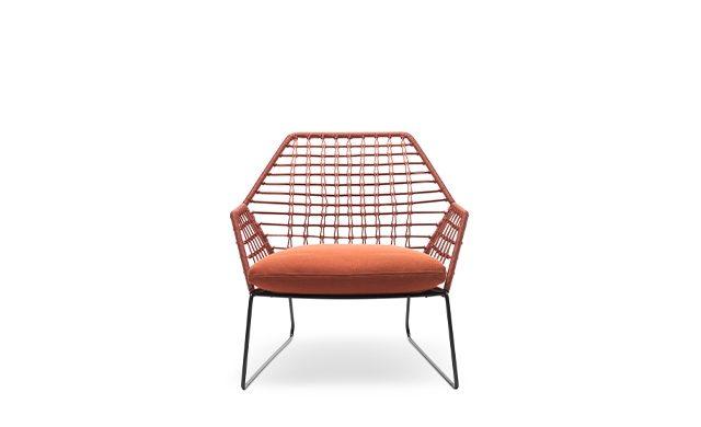 New York Soleil - Lounge Chair / Saba Italia