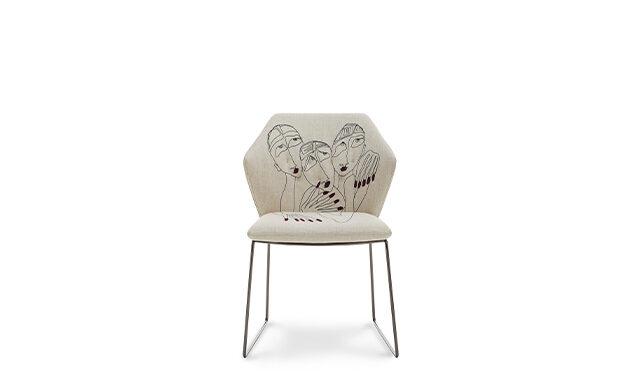 New York by Marras - Dining Chair / Saba Italia